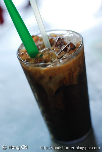 Kopi-Peng (Ice Coffee with milk)