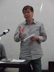 專業者都市改革組織理事長黃瑞茂