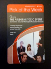 Starbucks iTunes Pick of the Week - The Airborne Toxic Event - Sometime Around Midnight
