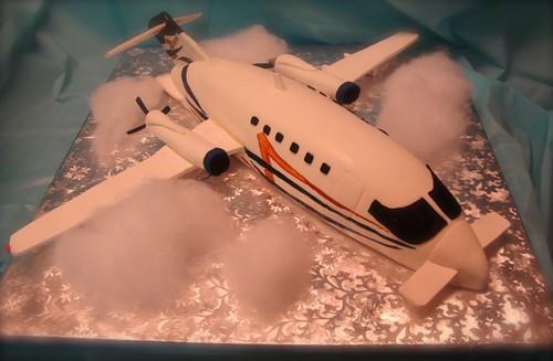 piaggio p180 plane cake