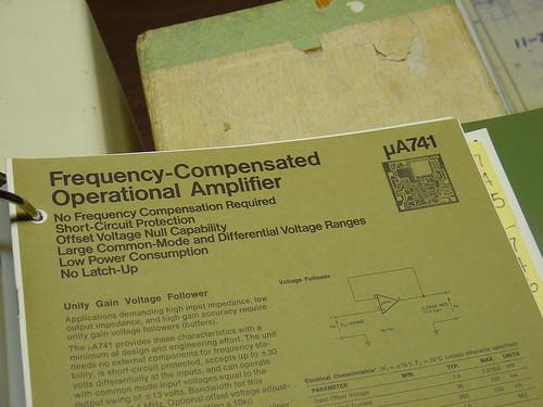 uA741 original datasheet