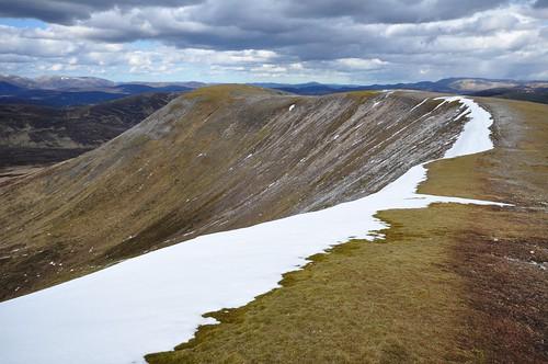 Beinn Lutharn Mhor ridge NE