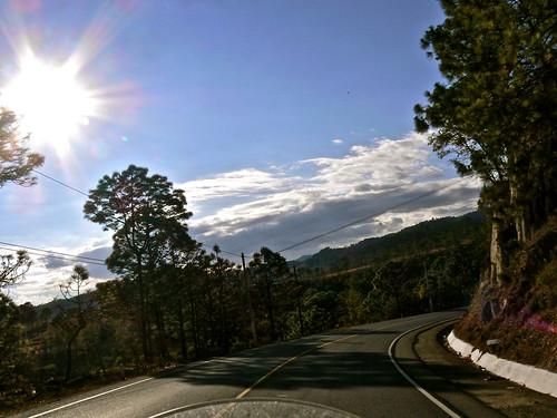 le strade del guatemala in moto