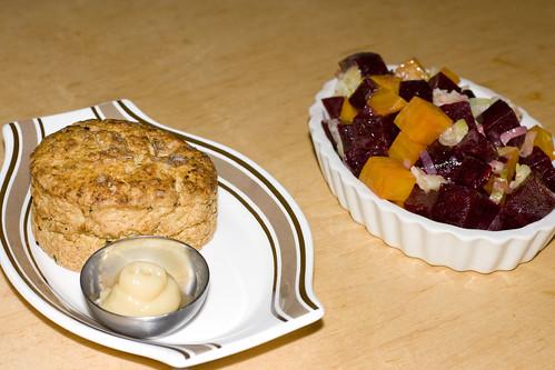 Buttermilk Biscuit, Beets