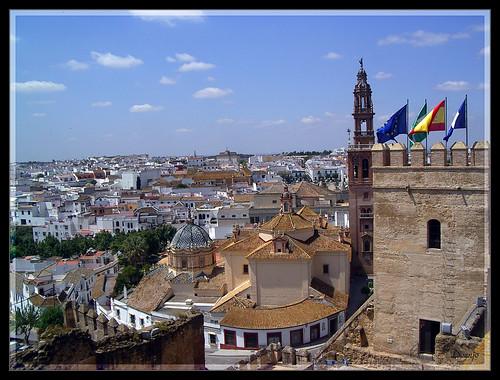 Vista desde el Alcázar Puerta de Sevilla