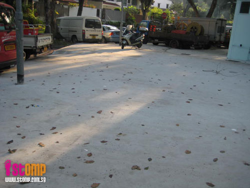 Cement here, there, everywhere. Where's the greenery, Town Council?