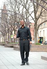 Pedestrian at Platt Park (eddyj65) Tags: park cincinatti platt