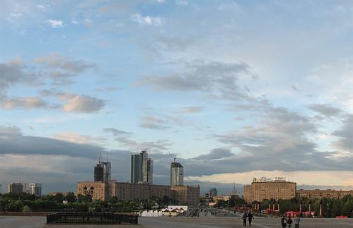 Вид с площади Победы ©  tohas