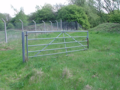 Farm Gate in Urban Landscape