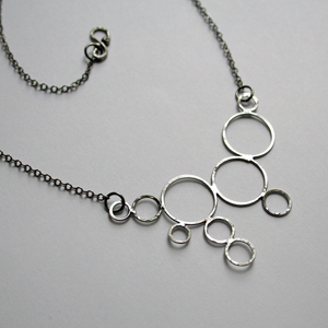 Structure Necklace by Freeforged Jewelry