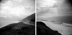 (ROB-AHN) Tags: road sardegna b light sea blackandwhite bw black classic 120 6x6 film analog trash mediumformat lens landscape coast diy photo holga diptych mood sardinia moody mask box stones low toycamera lofi lo rob 120film plastic 400 medium fi breeze rodinal leak negativescan rodinal150 vignette sardinien boxcamera toycam maske 120n lowfi rollfilm trashcam holga120n plasticlens ahn classicpan400 mittelformat boxkamera classicpan boxcam negativscan plastiklinse robahn