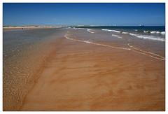 Seaton Sluice (padraicyclops) Tags: beach pool nikon ship dunes tide windmills northumberland blyth seatonsluice 30may09