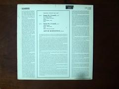 Backside Chopin - Sonatas No.2 op.35, No.3 op.58, Artur Rubinstein Piano, RCA LSC 3194 (Piano Piano!) Tags: art classic rock vintage disco concert 60s keyboard inch long play 33 album vinyl piano hans jazz recital concerto collection cover 80s soul lp record 70s clas