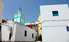 Morocco Street (cwgoodroe) Tags: ocean africa street old city sea summer people sun fish bus colors metal ferry plane children cafe sand ancient colorful doors artistic pentax vibrant muslim poor streetlife mosque arabic panasonic doorway morocco arab friendly moors conservative script casbah vegtable merchants continent merchant christians tangier monger moroccan tanger kasbah cleric sadfaces metaldoors fishmerchant casba casbha dailylifeportrait