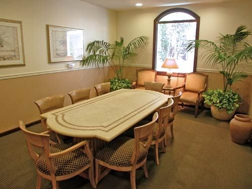 LA-Hollywood-CA-Villas at Park La Brea Apartments  - Community Clubhouse Business Room