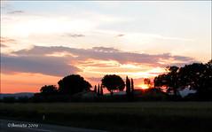 Sunset by Assisi (IT) (♥ Annieta ) Tags: voyage travel sunset italy holiday travelling canon vakantie zonsondergang reis powershot s2is ferien 2009 assisi italie vacanze allrightsreserved reizen vancance annieta worldtrekker dontusethisphotowithoutmypermission dontusethisphotowithoutpermission usingthisphotowithoutpermissionisillegal