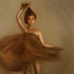 ballerina (brookeshaden) Tags: birthday ballet selfportrait face mom flow ballerina dress disconnected sheet swish motionless emotionless brookeshaden texturebylesbrumessheisamazing