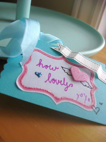 How Lovely Gift Tag