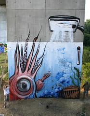 king calamari (BREakONE) Tags: fish aquarium gg paint break teddy roller medusa afx calamari