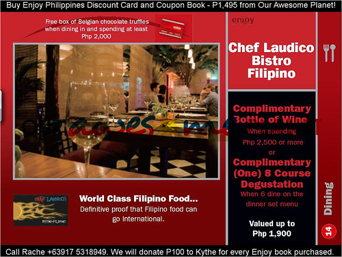 Chef Laudico Bistro Filipino