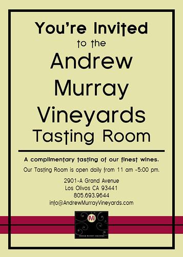 Andrew Murray Invite