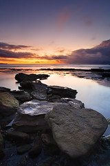 Balanced Morning (Tim Donnelly (TimboDon)) Tags: ocean sea seascape sunrise australia nsw cokin bungan