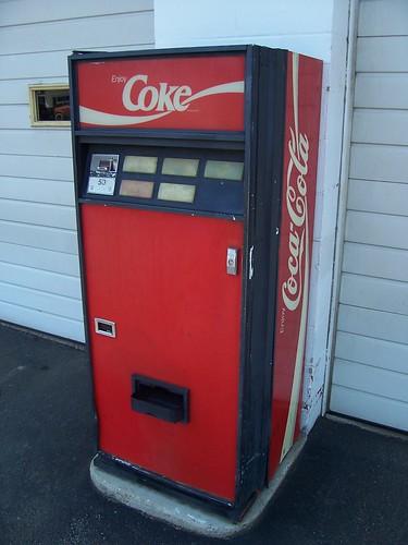 coca cola machine hack