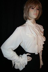 Diane Von Furstenberg Frilly Silk Jabot Blouse Full Length Front Right 1 (mondas66) Tags: ruffles victorian ascot blouse pirate poet romantic frilly jabot ruffle frills frill ruffled dianevonfurstenberg frilled frilling frillings