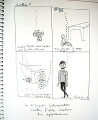 Beatbaby #5 - Lucky Pierre appears (ashabot) Tags: pierre drawings lucky comix asha beatbaby