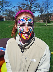 April 27 (Lake Forest College Daily Click) Tags: college campus illinois spring facepaint fundraising fundraiser alphaphi lakeforestcollege dailyclick liberalartscollege moveyourphit