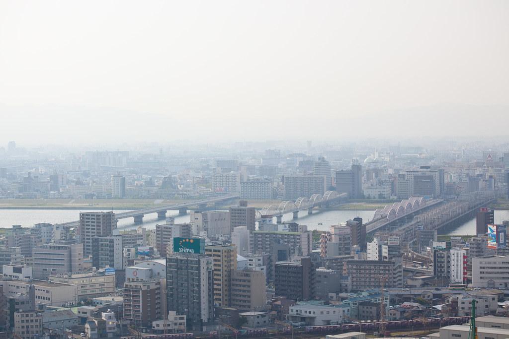Smog over Yodogawa