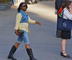newyork sunglasses boots manhattan purse upperwestside hood peeps earphones 96thstreet 96thst