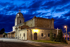 Nuestra seora de las Lindes - Explore (Azdoe.) Tags: sunset color church night clouds canon spain iglesia explore nubes 7d nocturna santander cantabria suances explored