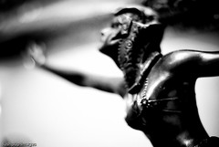...touching the void... (Geoff...) Tags: blackandwhite bw woman statue bronze nikon bokeh australia artdeco canberra deco 2010 nikkor50mm14 d80 bokehlicious bokehwednesday ilovemy50mmf14 lushpupimages