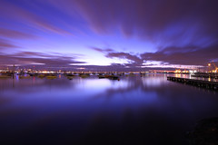 Before sunrise part 2 (kth517) Tags: searchthebest australia williamstown 澳洲 canon1022mm canon40d 日出前 victoriastate 維多利亞州
