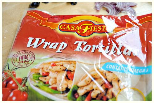 Greek-Style Wrap