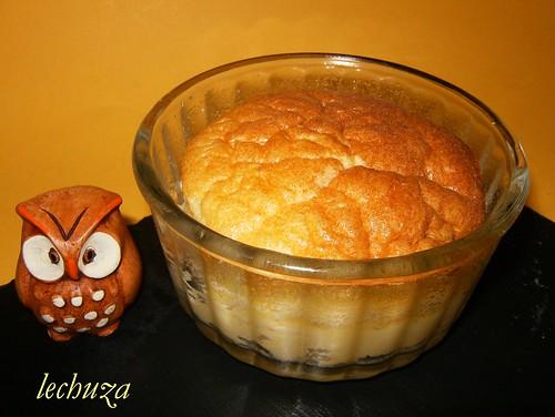 Tartaletas de queso-souflé