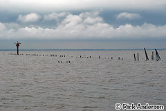 Currituck Sound Corolla, NC (Rick Anderson Photography) Tags: water clouds nc storms outerbanks obx currituck curritucksound corollanc curritucknc