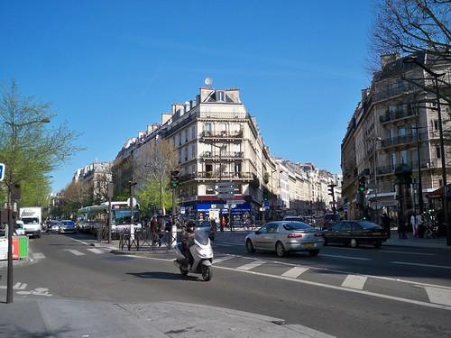 Boulevard de Magenta Paris