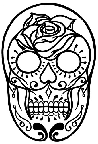 Filed under: Art, drawing, Illustration, Skull, Tattoos