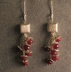 Starlite Jewelry Designs ~ Ruby Earrings (Naomi King) Tags: fashion indy jewelry indie fashionjewelry jewelrydesign gemstonejewelry indiedesigner indiefashion jewelrydesigner indiedesign indydesign starlitejewelrydesigns indyfashionjewelry indyjewelry indiejewelrydesigns indiefashionaccessories