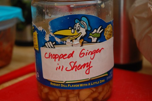 Chopped Ginger in Sherry