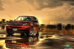Rainy day (Talal Al-Mtn) Tags: car sport day 4x4 rover best rainy kuwait suv landrover range rangerover rangeroversport talal q8     almtn talalalmtn