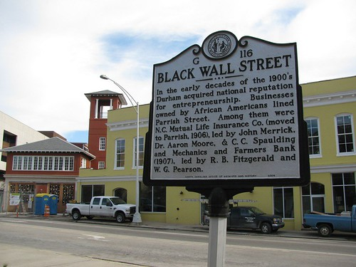 Black Wall Street (Parrish Street) by ephemerama, on Flickr