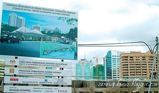New Image Sarawak River Bank Project