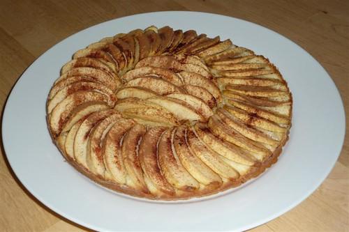 gateau noix de coco pommes