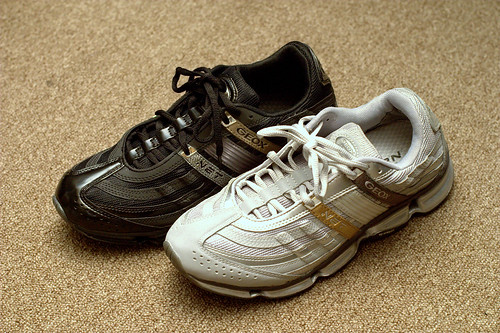 GEOXの靴をSALEで購入