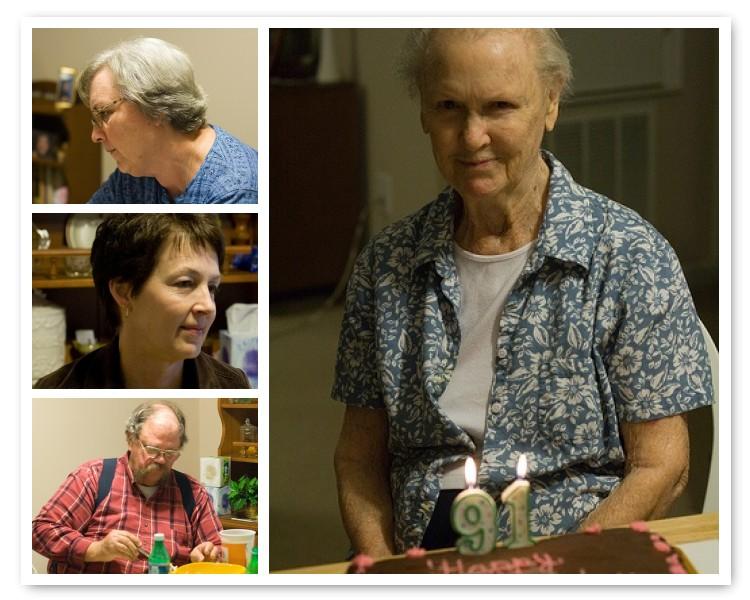 Grandma turns 91