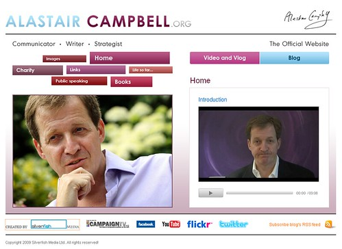 Alastair Campbell Website