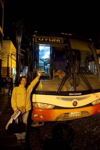 Todo Turismo Bus headed for Uyuni